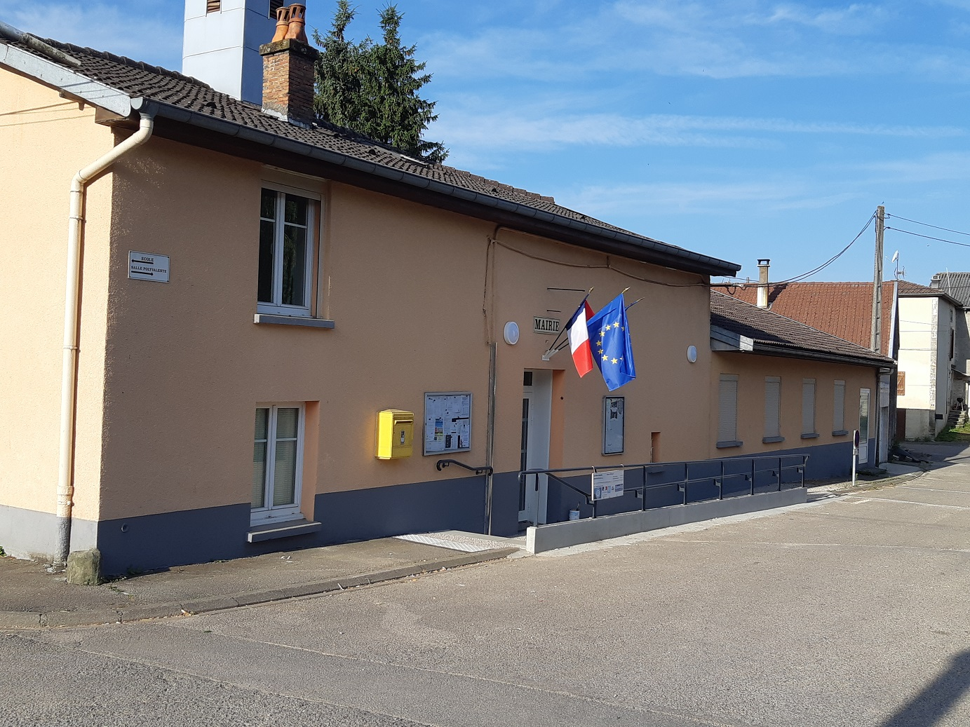 Mairie SANS VALLOIS - BD